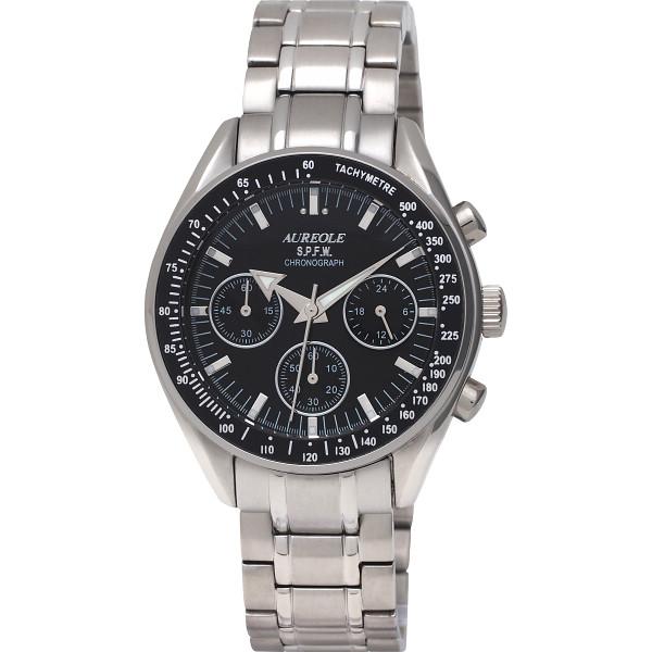 【送料無料】オレオール クロノグラフ メンズ腕時計 SW-582M-1【代引不可】【ギフト館】