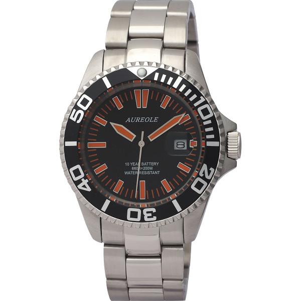 【キャッシュレス5%還元】【送料無料】オレオール ダイバー メンズ腕時計 SW-416M-A1【代引不可】【ギフト館】