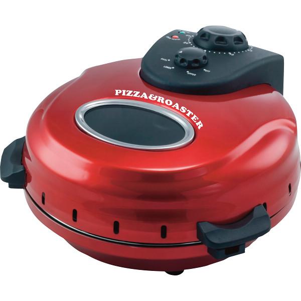 【送料無料】フカイ 回転石窯ピザ&ロースター メタルレッド FPM-220【代引不可】【ギフト館】