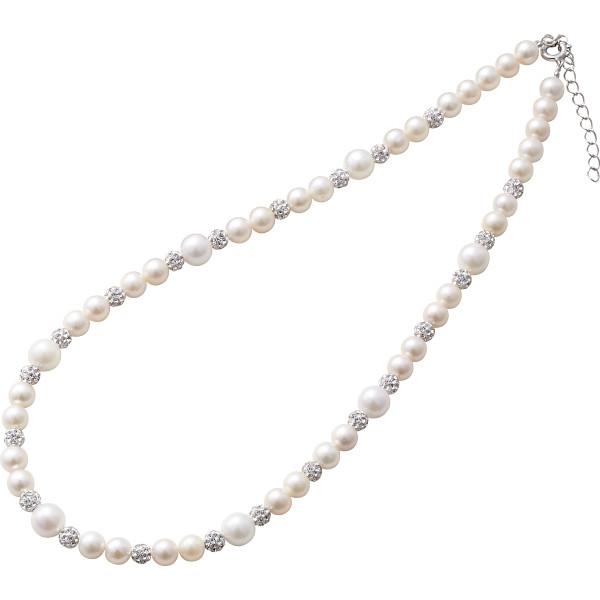 【キャッシュレス5%還元】【送料無料】セ・ルーアン 本真珠ネックレス ホワイト CRAN-250W【代引不可】【ギフト館】