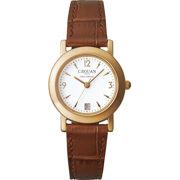 【キャッシュレス5%還元】【送料無料】セ・ルーアン レディース腕時計 CRTK-250BR【代引不可】【ギフト館】