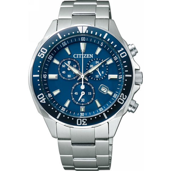 【キャッシュレス5%還元】【送料無料】シチズン メンズ腕時計 ブルー VO10-6772F【代引不可】【ギフト館】