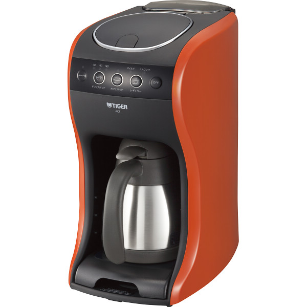 【送料無料】タイガー コーヒーメーカー<カフェバリエ>          バーミリオン ACT-B040DV【代引不可】【ギフト館】