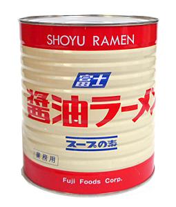 【キャッシュレス5%還元】★まとめ買い★ 富士 醤油ラーメン スープの素 1号缶 3.1Kg ×6個【イージャパンモール】