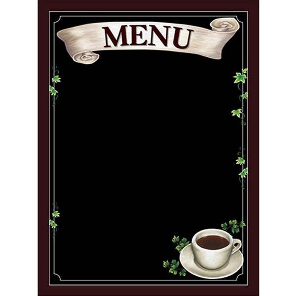 【キャッシュレス5%還元】【送料無料】Pボード マジカルボード 69740 MENU メニュー コーヒー Lサイズ【生活雑貨館】