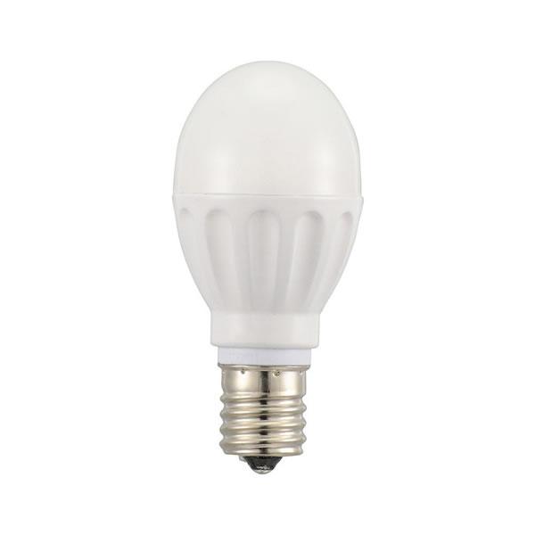 【キャッシュレス5%還元】【送料無料】OHM LED電球 小形 E17 60形相当 電球色 12個入 LDA6L?G?E17IH2112【生活雑貨館】