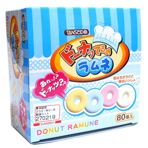 ★まとめ買い★ 丹生堂 ドーナツてるのラムネ80P ×18個【イージャパンモール】