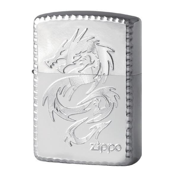 【キャッシュレス5%還元】【送料無料】ZIPPO シャイニング ドラゴン SV 2-72a (♯162) 70596【生活雑貨館】