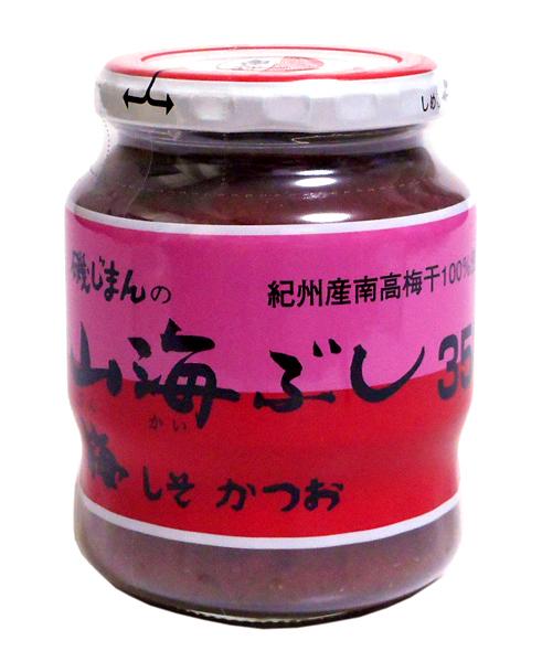 昭和47年発売の磯じまんオリジナルの梅和え物です。原料の梅は和歌山県南部で採れた梅干を裏ごしした物を使用し、かつお削り節、紫蘇をブ... 磯じまん 山海ぶし 350g【イージャパンモール】
