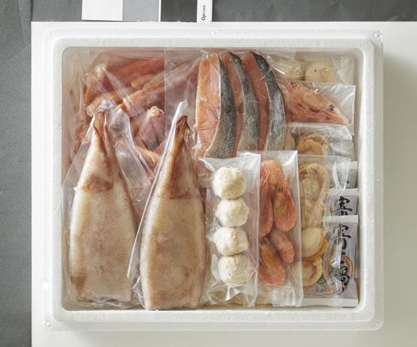 【キャッシュレス5%還元】【送料無料】A1805オホーツク海鮮鍋【ギフト館】