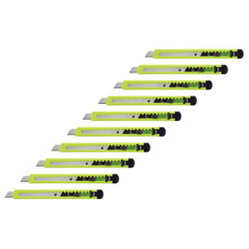カッターナイフ 標準型(10本)【返品・交換・キャンセル不可】【イージャパンモール】