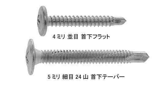 【キャッシュレス5%還元】SUS410ピアス シンW 5 X 25 ×3200【イージャパンモール】