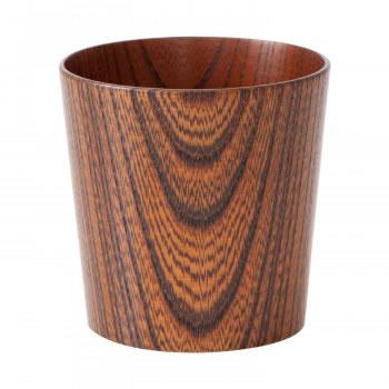 【送料無料】木のコップ 欅 漆茶 5個セット【生活雑貨館】