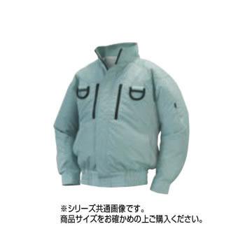 【送料無料】NA-113 空調服フルハーネス (服 5L) モスグリーン チタン タチエリ 8211741【生活雑貨館】