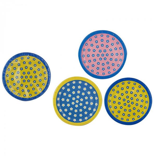 【送料無料】アートナップ 花柄ペーパープレート 5枚×120 HG-32【生活雑貨館】