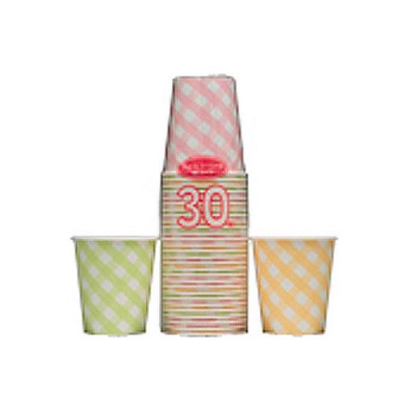 【送料無料】アートナップ ギンガムチェック ペーパーカップ 30個×60 GCH-344【生活雑貨館】