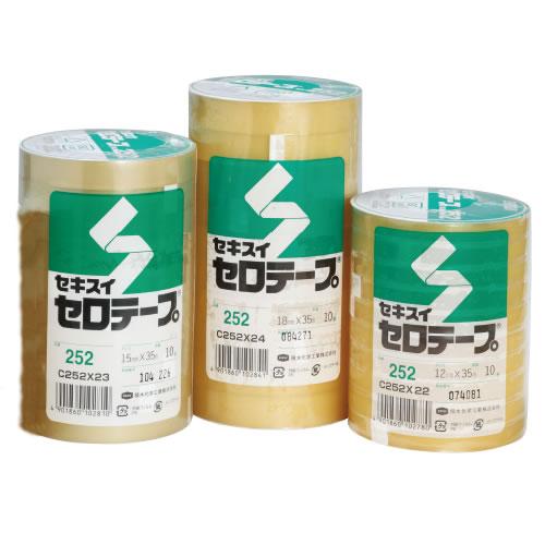 【キャッシュレス5%還元】セロテープ35m15mm幅200巻【返品・交換・キャンセル不可】【イージャパンモール】