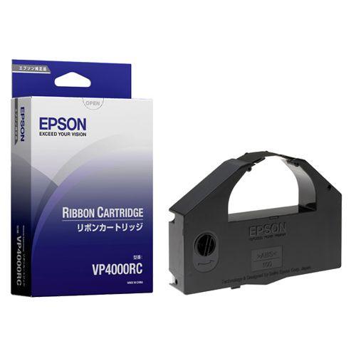 【送料無料】【法人(会社・企業)様限定】EPSON リボンカートリッジ 黒 VP4000RC 1本:イージャパンアンドカンパニーズ
