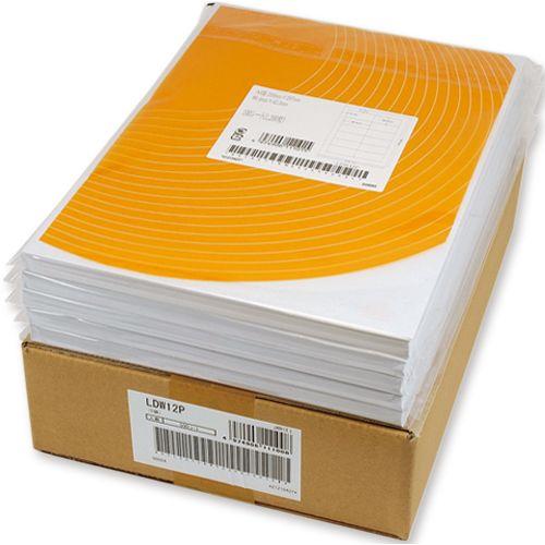 【送料無料】【法人(会社・企業)様限定】東洋印刷 ナナワードシートカットラベル マルチタイプA4 12面 86.4×46.6mm 1箱(500シート:100シート×5冊)