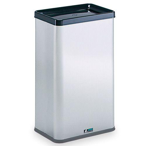 【送料無料】【法人(会社・企業)様限定】テラモト ステンレスゴミ箱 34.8L 一般用 1台