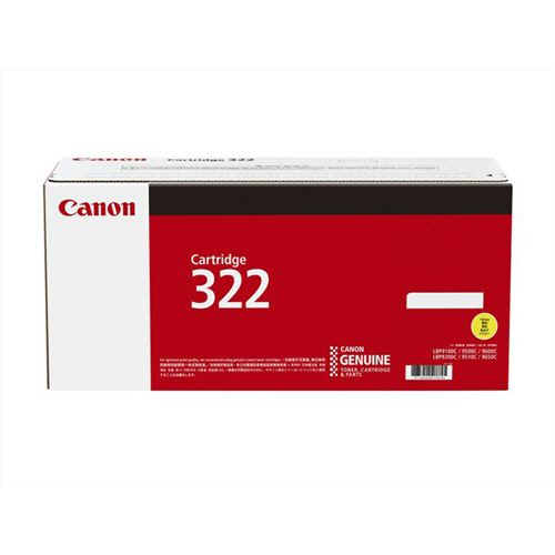 【キャッシュレス5%還元】CANON トナーカートリッジ322 CRG-322YEL イエロー 1個