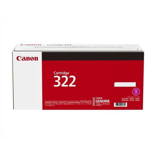 CANON トナーカートリッジ322 CRG?322MAG マゼンタ 1個