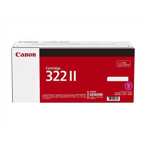 CANON トナーカートリッジ322II CRG-322IIMAG マゼンタ 大容量 1個