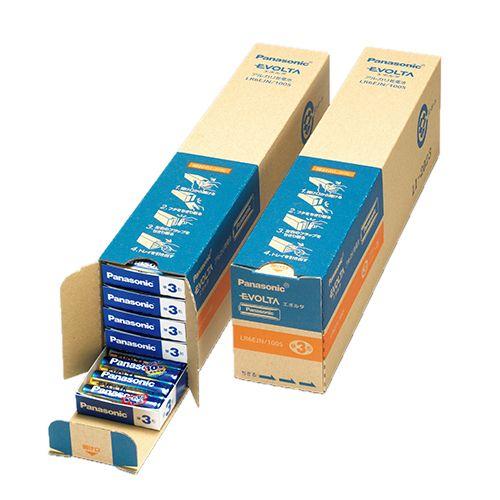 【キャッシュレス5%還元】【送料無料】【法人(会社・企業)様限定】パナソニック アルカリ乾電池 EVOLTA 単3形 業務用パック 1箱(100本)