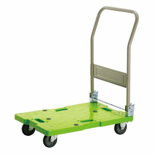 【キャッシュレス5%還元】【送料無料】【法人(会社・企業)様限定】樹脂運搬車(キャスター標準) W450×D705×H860mm 120kg荷重 1台