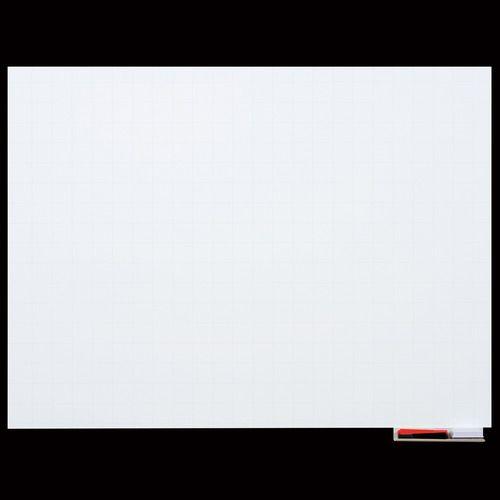 【キャッシュレス5%還元】マグエックス マグネットホワイトボードシート 暗線入 特大 1200×900mm 1枚