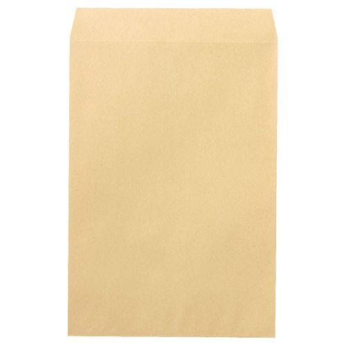 【キャッシュレス5%還元】【送料無料】【法人(会社・企業)様限定】PEACE R40再生紙クラフト封筒 角1 85g/m2 業務用パック 1箱(500枚)