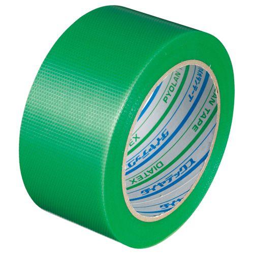 ダイヤテックス パイオランクロス粘着テープ 50mm×25m 塗装養生用 1セット(30巻) 緑