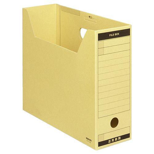 コクヨ ファイルボックス?FS(Aタイプ) A4ヨコ 背幅102mm クラフト フタ付 1セット(50冊)