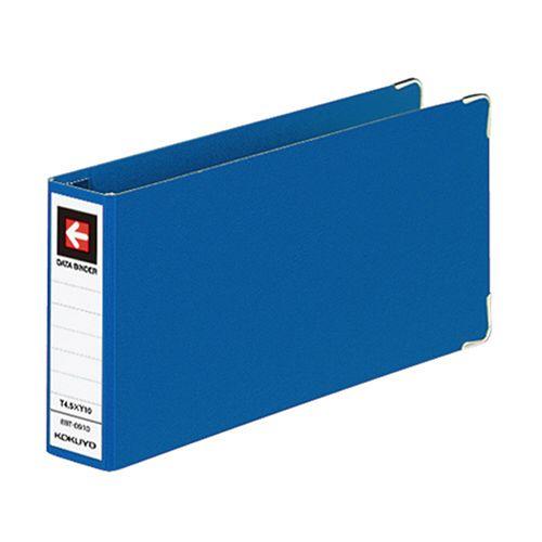 コクヨ データバインダーT(バースト用・レギュラータイプ) T4.5xY10 9穴280枚収容 青 1セット(10冊)