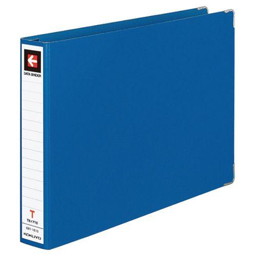 コクヨ データバインダーT(バースト用・レギュラータイプ) T8xY12 16穴 280枚収容 青 1セット(20冊)