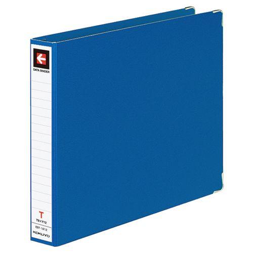 コクヨ データバインダーT(バースト用・レギュラータイプ) T9xY12 18穴 280枚収容 青 1セット(10冊)