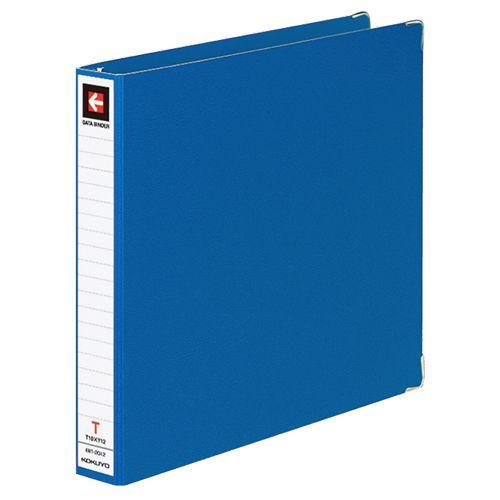 コクヨ データバインダーT(バースト用・レギュラータイプ) T10xY12 20穴280枚収容 青 1セット(10冊)