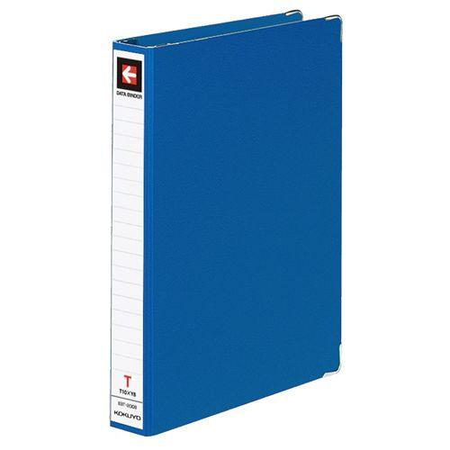 コクヨ データバインダーT(バースト用・レギュラータイプ) T11xY8 22穴 280枚収容 青 1セット(10冊)