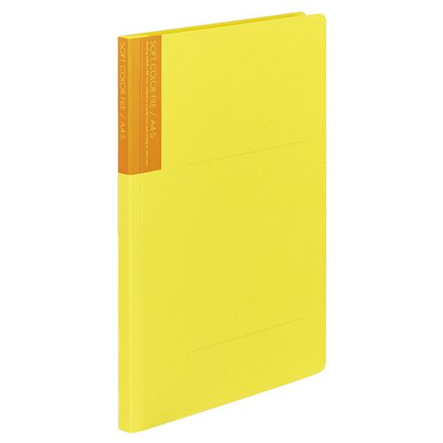 コクヨ ソフトカラーファイル A4タテ 150枚収容 背幅18mm 黄 1セット(60冊)