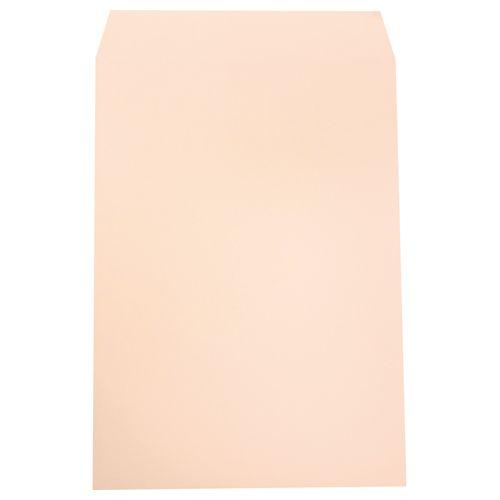 【送料無料】【法人(会社・企業)様限定】heart 透けないカラー封筒 角2 100g/m2 パステルピンク 1セット(500枚:100枚×5パック)