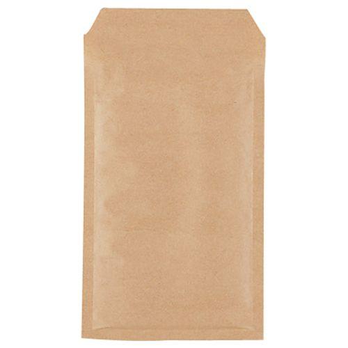 【送料無料】【法人(会社・企業)様限定】クッション封筒エコノミー FD・MO・小物 内寸130×215mm茶 1セット(400枚:200枚×2パック)