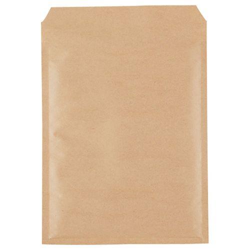 【送料無料】【法人(会社・企業)様限定】クッション封筒エコノミー CD2枚組用 茶 1セット(300枚:150枚×2パック)