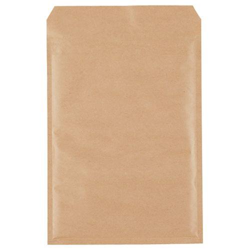 【送料無料】【法人(会社・企業)様限定】クッション封筒エコノミーA4用 内寸235×330mm茶 1セット(200枚:100枚×2パック)