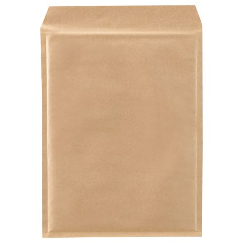 【キャッシュレス5%還元】【送料無料】【法人(会社・企業)様限定】クッション封筒エコノミーA4ワイド内寸260×350mm茶 1セット(200枚:100枚×2パック)