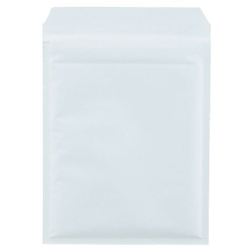 【送料無料】【法人(会社・企業)様限定】クッション封筒エコノミー CD2枚組用 ホワイト 1セット(300枚:150枚×2パック)