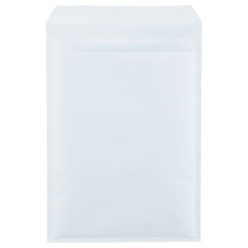 【送料無料】【法人(会社・企業)様限定】クッション封筒エコノミーA4 内寸235×330mm ホワイト 1セット(200枚:100枚×2パック)