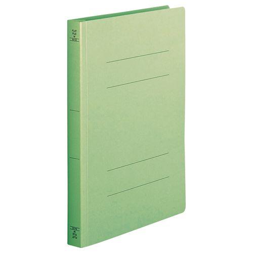 【キャッシュレス5%還元】【送料無料】【法人(会社・企業)様限定】フラットファイル(厚とじW) A4タテ 250枚収容 緑 1セット(200冊:10冊x20パック)