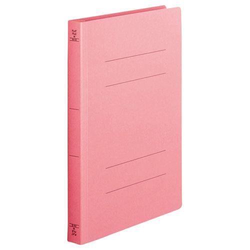 【キャッシュレス5%還元】【送料無料】【法人(会社・企業)様限定】フラットファイル(厚とじW)A4タテ 250枚収容ピンク 1セット(200冊:10冊x20パック)