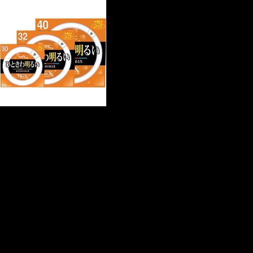 NEC NEC 蛍光ランプ ライフルックHGX 環形スタータ形 30W形 3波長形 3波長形 電球色 1セット(20本) 1セット(20本), 時計の工楽屋:765e3773 --- ww.thecollagist.com