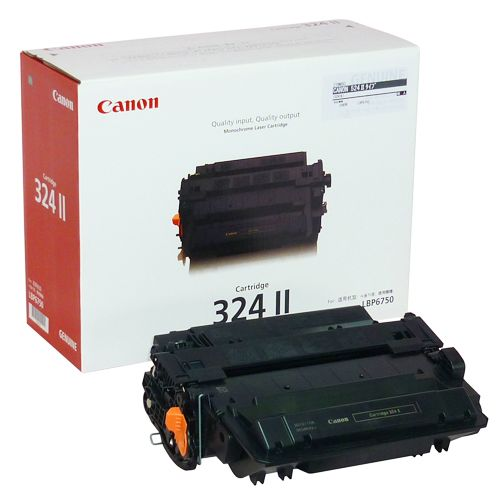 CANON トナーカートリッジ524II(324II) 輸入純正品 1個